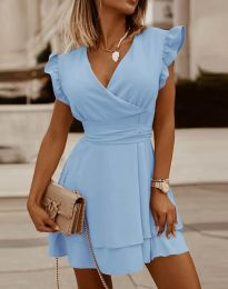 Obleka - koda 5654 - svetlo modra