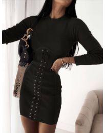 Obleka - koda 4453 - 4 - črna