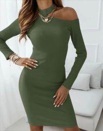 Obleka - koda 4859 - olivna