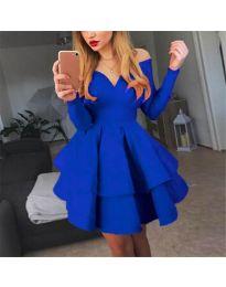 Obleka - koda 228 - modra