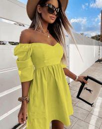 Obleka - koda 7413 - rumena