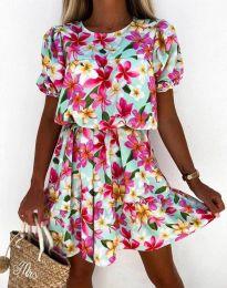 Obleka - koda 6985 - večbarvna