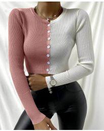 Bluza - koda 6366 - 6 - večbarvna