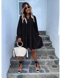 Obleka - koda 6643 - črna
