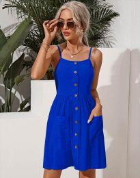 Obleka - koda 6271 - modra
