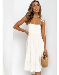 Obleka - koda 630 - bela