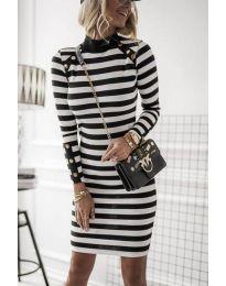 Obleka - koda 1573 - 1 - črna
