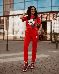 Športni komplet - koda 581 - rdeča