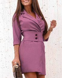 Obleka - koda 1357 - vijolična
