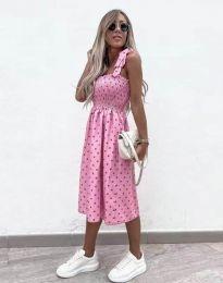 Obleka - koda 4535 - roza