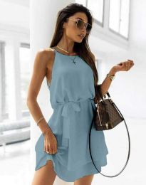 Obleka - koda 9968 - svetlo modra