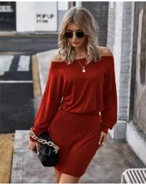 Obleka - koda 4447 - rdeča