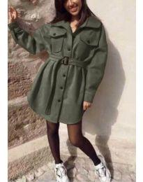 Obleka - koda 0707 - olivna