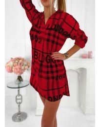 Obleka - koda 5456 - rdeča
