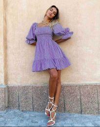 Obleka - koda 4791 - 1 - vijolična
