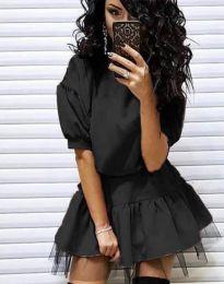 Obleka - koda 2856 - črna