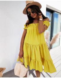 Obleka - koda 805 - rumena