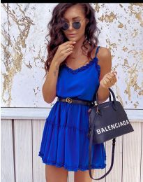 Obleka - koda 7758 - temno modra