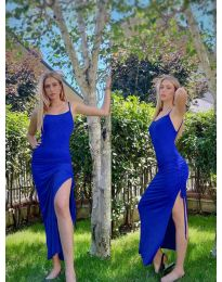Obleka - koda 7858 - modra