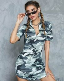 Obleka - koda 1540 - 2 - kamuflaža
