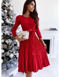 Obleka - koda 3939 - rdeča