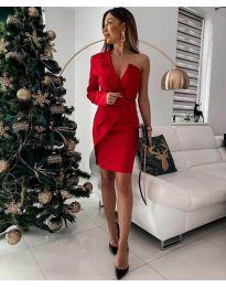 Obleka - koda 15944 - 3 - rdeča