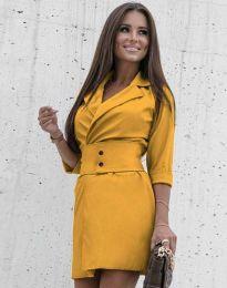 Obleka - koda 1356 - gorčica