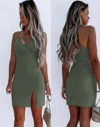 Obleka - koda 8979 - olivno zelena