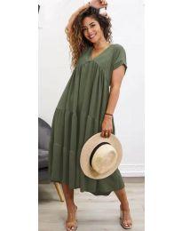 Obleka - koda 4475 - olivna