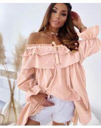 Obleka - koda 9865 - roza