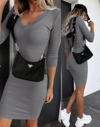 Obleka - koda 7592 - siva