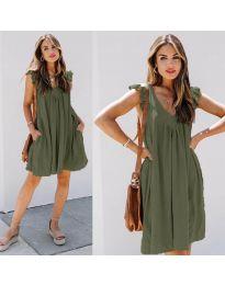 Obleka - koda 5090 - olivna