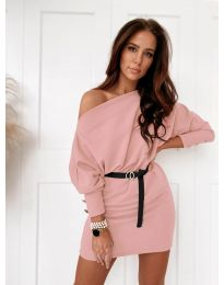 Obleka - koda 4442 - roza