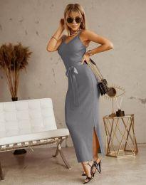 Obleka - koda 6166 - siva