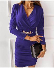 Obleka - koda 8999 - vijolična