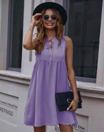 Obleka - koda 0286 - vijolična