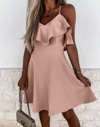 Obleka - koda 2739 - roza