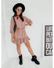 Obleka - koda 4146 - roza