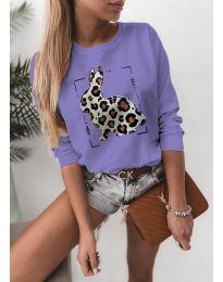 Bluza - koda 4001 - vijolična