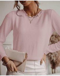Bluza - koda 1580 - 2 - roza