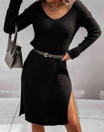 Obleka - koda 6829 - črna