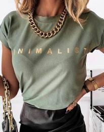 Majica - koda 4078 - olivno zelena