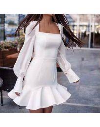 Obleka - koda 3605 - bela