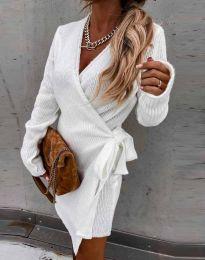 Obleka - koda 9846 - bela
