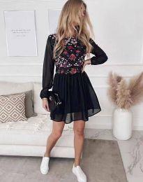 Obleka - koda 3482 - črna