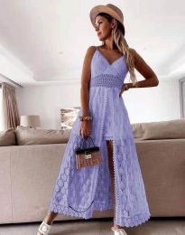 Obleka - koda 2704 - svetlo vijolična