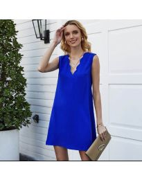 Obleka - koda 1429 - temno modra