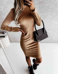 Obleka - koda 9368 - кapučino