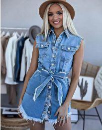 Obleka - koda 3699 - 1 - modra
