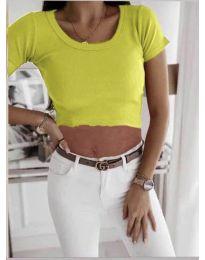 Majica - koda 530 - neonsko rumena